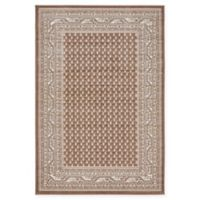 Unique Loom Tribeca 4' x 6' Power-Loomed Area Rug in Brown