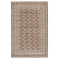 Unique Loom Tribeca 5' x 8' Power-Loomed Area Rug in Brown