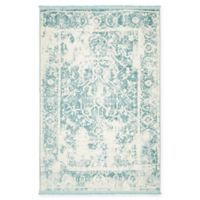 Unique Loom Athens Arcadia 4' x 6' Power-Loomed Rug in Blue