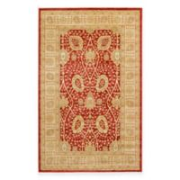 Unique Loom Adel Heritage 5'x8' Power-Loomed Area Rug in Red