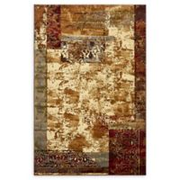 Arsha Coffee Shop 5' x 8' Area Rug in Beige