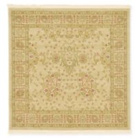 Unique Loom Heritage 4' x 4' Area Rug in Cream