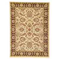Unique Loom Asheville Agra 7'x10' Power-Loomed Area Rug in Cream