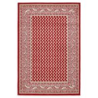 Unique Loom Allover Tribeca 4' x 6' Area Rug in Red