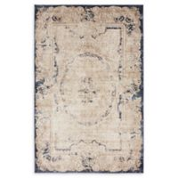 Unique Loom Adams Villa 4' x 6' Area Rug in Cream