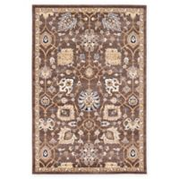 Unique Loom Lily Heritage 4' x 6' Rug in Brown