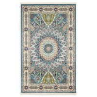 Unique Loom Adams 5' x 8' Area Rug in Blue