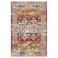 Empire Alta 4' x 6' Area Rug in Pink