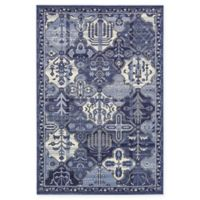 La Jolla Cathedral 6' x 9' Area Rug in Blue