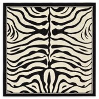 Unique Loom Colognese Safari 6' Square Area Rug in Beige