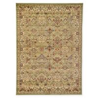 Unique Loom Colonial Agra 7' x 10' Area Rug in Light Green