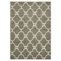 Columbus Transitional 7' x 10' Area Rug in Brown