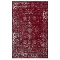 Unique Loom Casino Sofia 5' x 8' Area Rug in Burgundy