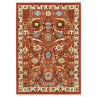 Unique Loom Isfahan 7' x 10' Area Rug in Terracotta