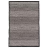 Unique Loom Checkered Trellis 5' x 8' Indoor/Outdoor Area Rug in Grey