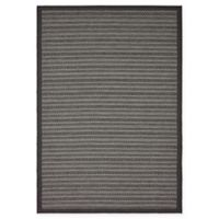 Unique Loom Checkered Trellis 6' x 9' Indoor/Outdoor Area Rug in Grey