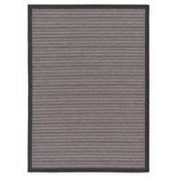 Unique Loom Checkered Trellis 7' x 10' Indoor/Outdoor Area Rug in Grey