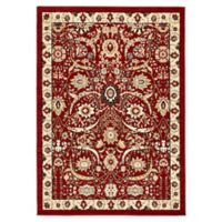 Unique Loom Isfahan 7' x 10' Area Rug in Red