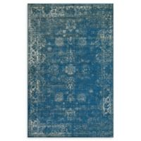 Unique Loom Sofia 3' x 5' Area Rug in Blue