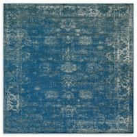 Unique Loom Sofia 6' x 6' Area Rug in Blue