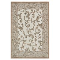 Unique Loom Transitional 6' x 9' Area Rug in Beige/Light Brown