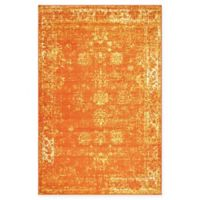 Unique Loom Sofia 5' x 8' Area Rug in Orange
