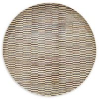 Unique Loom Choctaw Tribe 5' Round Area Rug in Beige