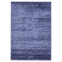 Unique Loom Del Mar Charlotte 2'2 x 3' Accent Rug in Navy Blue