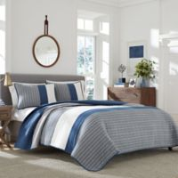 Nautica® Swale Full/Queen Quilt in Blue