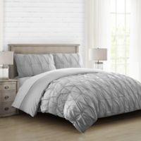 Hanover King Comforter Set in Grey
