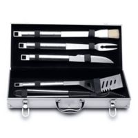 BergHOFF® Cubo 6-Piece Stainless Steel BBQ Set with Case