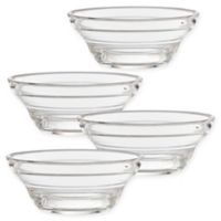 CreativeWare® Lemonade Small Clear Bowls (Set of 4)