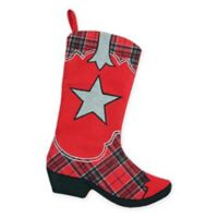 Wild West Boot Christmas Stocking