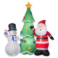 National Tree Company® Airblown® 13-Foot Inflatable Christmas Trio