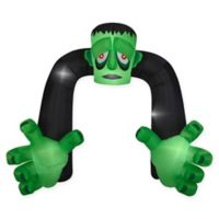 Inflatable Monster Archway 9-Foot Outdoor Halloween Decoration