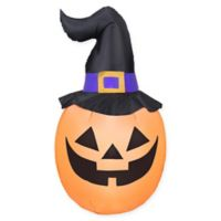 Inflatable Giant Jack-O-Lantern Outdoor Halloween Decoration
