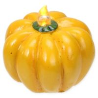 Roman Harvest LED Thanksgiving Pumpkin in Yellow