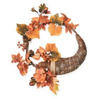 Northlight 20-Inch Cornucopia Wreath