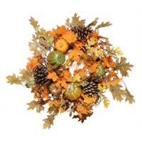 24-Inch Artificial Fall Assortment Wreath