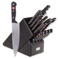 Wusthof® Gourmet 16-Piece Knife Block Set in Black