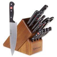 Wusthof® Gourmet 16-Piece Knife Block Set in Walnut