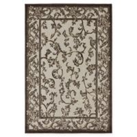 Unique Loom Traditional 4' x 6' Area Rug in Beige/Brown