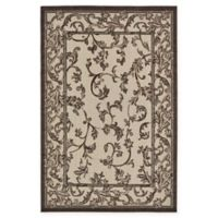 Unique Loom Traditional 6' x 9' Area Rug in Beige/Brown