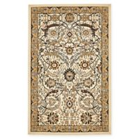 Unique Loom Isfahan 5' x 8' Power-Loomed Area Rug in Ivory