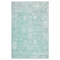 Unique Loom Casino Sofia 5' x 8' Area Rug in Turquoise