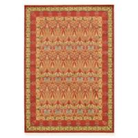 Unique Loom Carnation Heritage 7' x 10' Power-Loomed Area Rug in Red