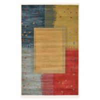 Unique Loom Carson Nomad 3' x 5' Power-Loomed Area Rug in Tan