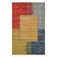 Unique Loom Carson Nomad 5' x 8' Power-Loomed Area Rug in Tan