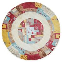 Unique Loom Cheyenne Tribal Multicolored 5' Round Area Rug
