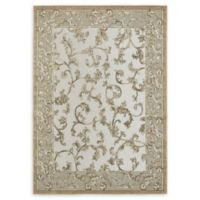 Unique Loom Transitional 7' x 10' Area Rug in Beige/Grey